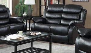 GT Black Reclinhcfing Loveseat | U9600 for Sale in Fairfax, VA