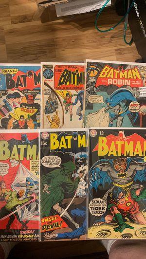 DC comic book lot of 8 vintage Batman comics for Sale in Ontario, CA