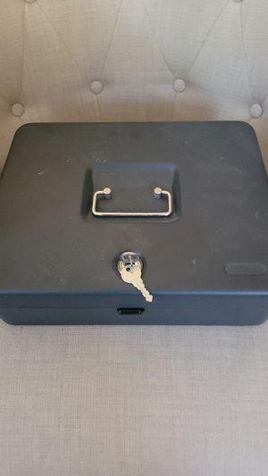 Cash Box with Lock for Sale in Alpharetta, GA