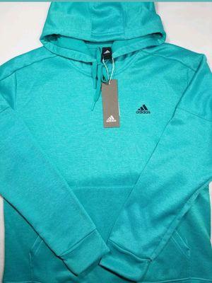 Women's ADIDAS Team Issue Badge Hoodie Sweatshirt New Medium Vivid Mint for Sale in Centennial, CO