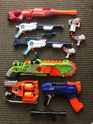 9 nerf guns for Sale in Reston, VA