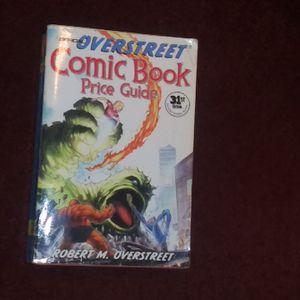 31st edition comic book price guide for Sale in Arkoma, OK