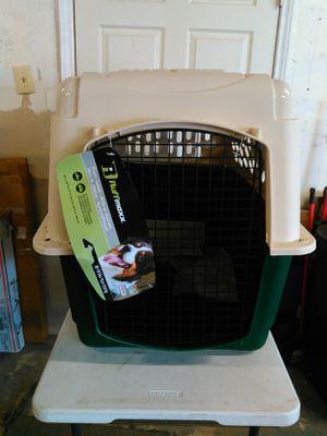"Ruffmax 30-70 lbs Plastic Dog Kennel , Tan/Green, 36"" L for Sale in Arlington, TX"