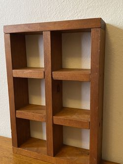 Vintage Apothecary Wooden Shelf for Sale in St. Petersburg,  FL