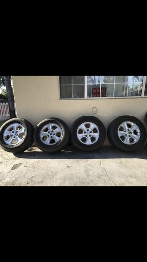 Goodyear 245/70r17 Fortera HL Jeep Wrangler Grand Cherokee Rubicon Limited 4x4 Tires Wheels for Sale in South Gate, CA