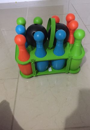 Plastic Bowling game for Sale in Charlotte, NC