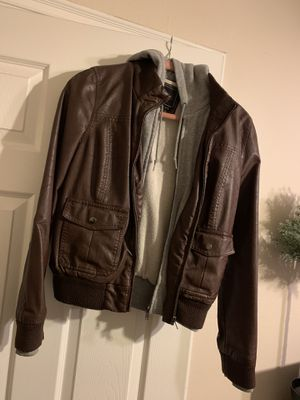 Women's Obey Leather Jacket for Sale in Simi Valley, CA
