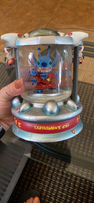 Disney Stitch light up globe for Sale in Tampa, FL