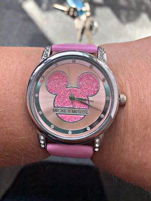 Mickey Mouse Watch Black/Pink for Sale in Washington, DC