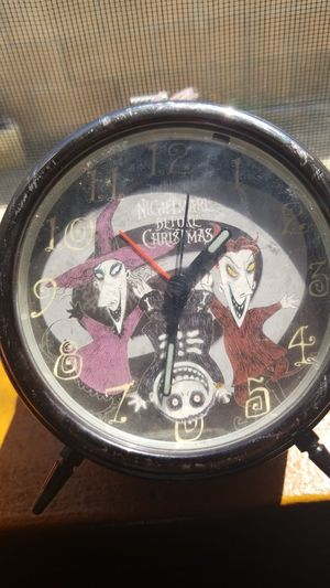 Cool Vintage Nightmare Before Christmas Clock for Sale in El Cajon, CA