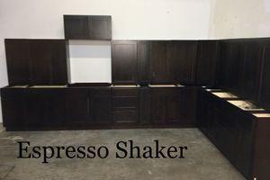 Espresso Shaker Kitchen Cabinets for Sale in Dallas, TX