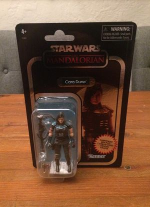Star Wars The Vintage Collection The Mandalorian Carbonized Cara Dune exclusive action figure new for Sale in Puyallup, WA