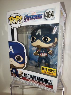 Captain America AVENGERS Endgame MARVEL Funko POP Hot Topic EXCLUSIVE for Sale in Shoreline, WA