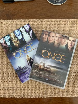 Once Upon a Time The Complete First (1st) and Second (2nd) Seasons on DVD Like New TV Series for Sale in Hazlet, NJ