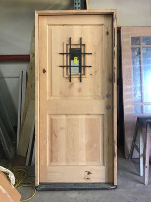 New 36x80 SPEAKEASY DOOR WITH FRAME for Sale in San Antonio, TX