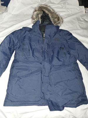 Men's North Face Winter Coat XL Navy Blue for Sale in Silver Spring, MD