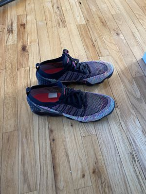Nike Air Vapormax 2 Flyknit Running Shoes Black/Pink/Volt Sz 15 for Sale in NY, US