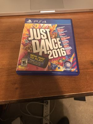 2016 Just Dance (PS4) for Sale in San Antonio, TX
