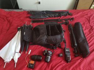 Nikon D3200 w/accessories for Sale in Hillsboro, OR