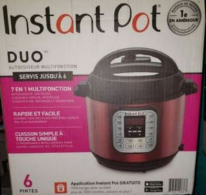 New & Unopened Instant Pot 6 Qt 7-in-1 Multi-Use Programmable Pressure Cooker ☆Retail Price:$108 +Tax ☆ for Sale in Glendale, AZ