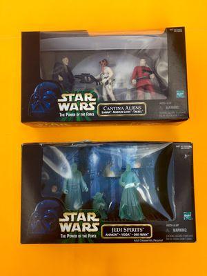 90s Star Wars Action Figures Sets Jedi Spirits & Cantina Aliens for Sale in Missoula, MT