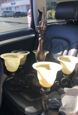 Light / chandelier (hangs from ceiling) for Sale in Portland, OR