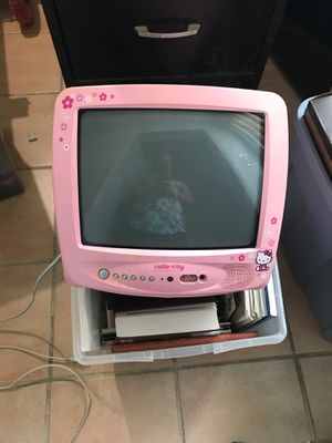 Hello kitty 13 inch tv for Sale in Doral, FL