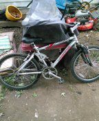 "Mountain bike 24"" full suspension,rides perfectly,allum.finish. for Sale in Roseville, MI"
