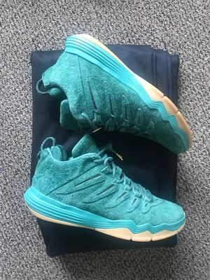 Friends & Family Chris Paul green suede size 10. Promo Sample cp3 ix for Sale in Portland, OR