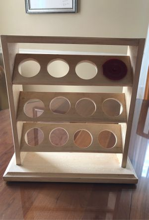 Wood coffee pod holder-holds 12 pods for Sale in Mineola, NY