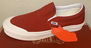 Vans classic slip ons toe cap - several sizes available for Sale in Fullerton, CA