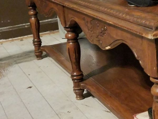 Two tier family room table