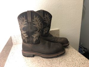 Ariat WorkHog Work Boot Composite Toe Waterproof 11D for Sale in Dallas, TX