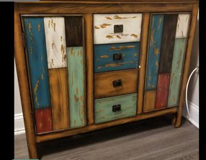 Multi colored console table for Sale in Fort Washington, MD