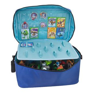 Extra Large Carrying Case Skylanders Disney Infinity Nintendo Amiibo 3DS Wii U Xbox 360 PS3 PS4 Microsoft Sony PlayStation for Sale in Federal Way, WA