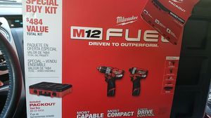Milwaukee m12 fuel hammer/compact drills for Sale in Middle River, MD