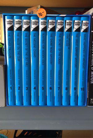 Hardy boys books set of 10 for Sale in Vallejo, CA