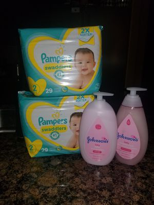 Pampers, Johnson and Johnson Bundle for Sale in Mansfield, TX