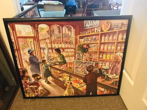 Candy store puzzle framed for Sale in Nashville, TN
