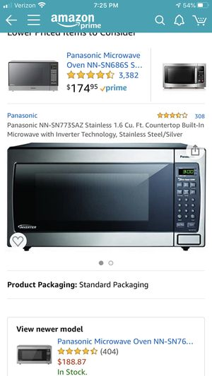 Panasonic Microwave. 1250W/ model non-sn773s for Sale in Anaheim, CA