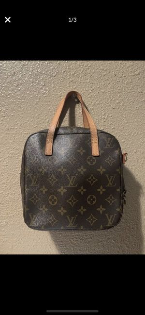100 % AUTHENTIC LOUIS VUITTON MONOGRAM SPONTINI PURSE TOTE HAND BAG $400 obo PRECIO NEGOCIABLE NO TRADES for Sale in Tustin, CA