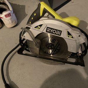 RYOBI saw (5000rpm) electric for Sale in Bonita, CA