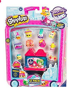 NEW! Shopkins Season 8 America Toy 12 Pack for Sale in Stuart, FL