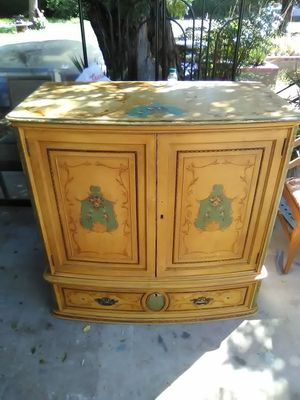 Antique chest of drawers/ cabinet $50 for Sale in Phoenix, AZ