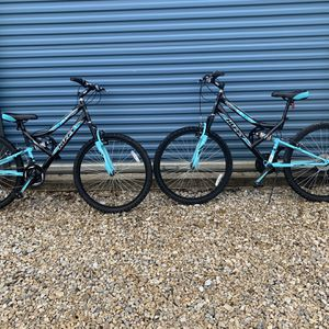 "Matching Pair Of Huffy Mountain Bikes 26"" Trail Runner. $125 Each for Sale in Keller, TX"