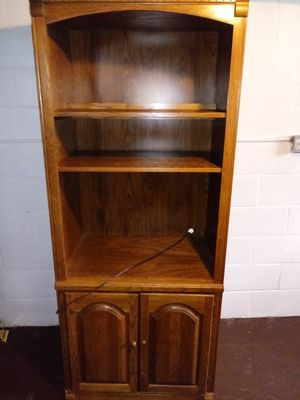 Bookcase/cabinet for Sale in Youngstown, OH