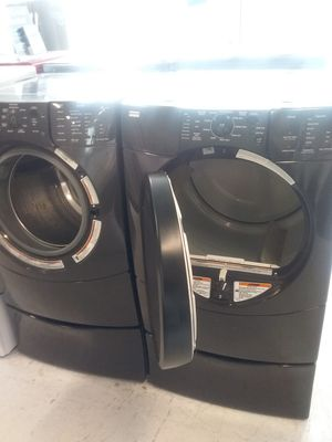 Kenmore pedestal washer and dryer used good condition 90days warranty for Sale in Mount Rainier, MD