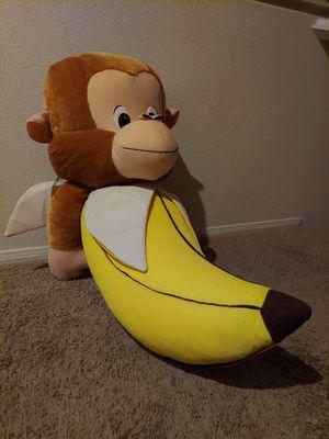 Stuffed animal-large monkey for Sale in Temecula, CA