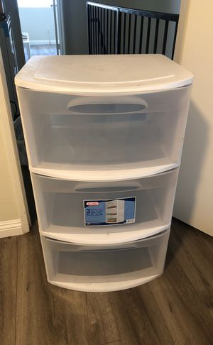 Large Plastic Drawers for Sale in Glendale, CA