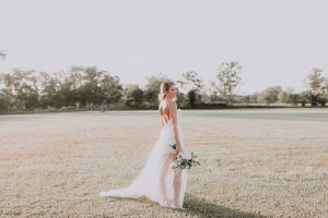 Winnie Couture wedding dress size 0 for Sale in Houston, TX